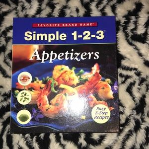Other - 2005 cookbook simple 1-2-3 appetizers